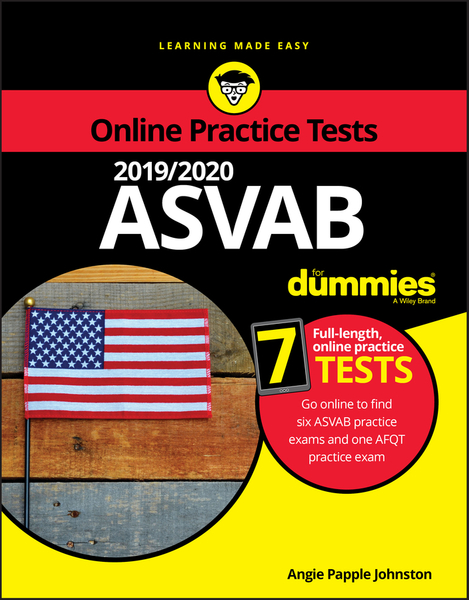 Picture of 2019 / 2020 ASVAB For Dummies with Online Practice