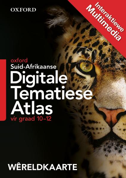 Digitale Tematiese Atlas Gr 10-12 Wêreldkaarte