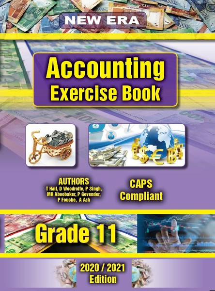 New Era Accounting Grade 11 Exercise Book (Study Guide Combo)