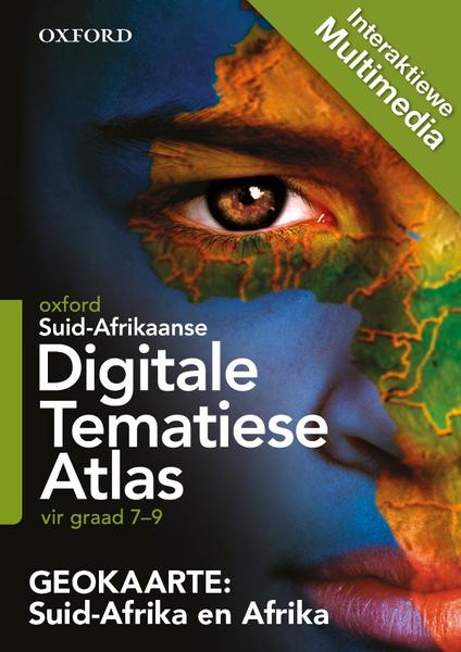 Digitale Tematiese Atlas Gr 7-9 Suid-Afrika en Afrika