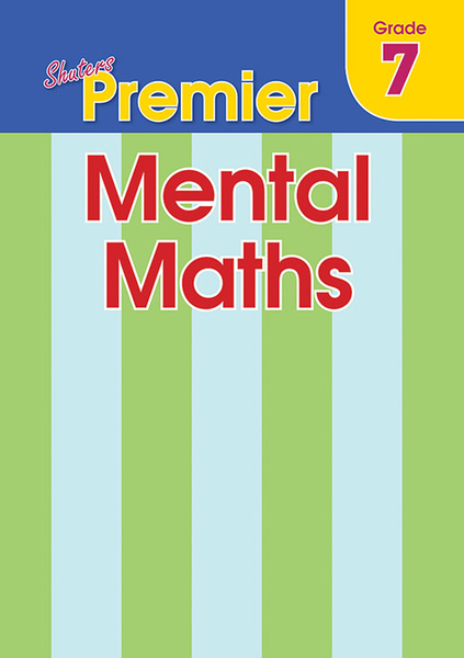 SHUTERS PREMIER MENTAL MATHS GRADE 7 (One Year License)