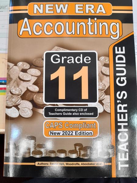 New Era Accounting Grade 11 Teachers Guide