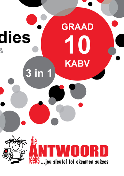 Picture of The Answer Series Graad 10 VERBRUIKERSTUDIES 3in1 KABV Studiegids