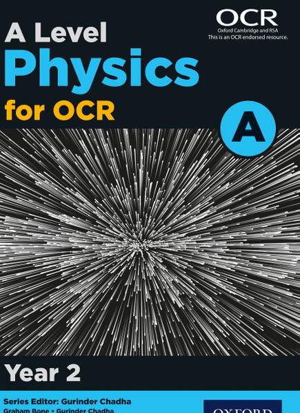 Picture of A Level Physics for OCR A: Year 2