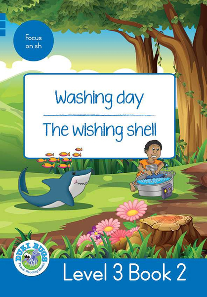 DUZI BUGS: BLUE LEVEL 3: BOOK 2: WASHING DAY | THE WISHING WELL (One Year License)