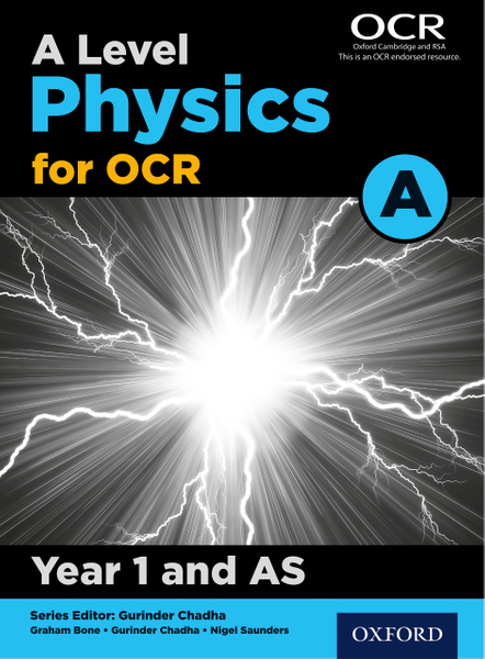 Picture of A Level Physics for OCR A: Year 1 and AS