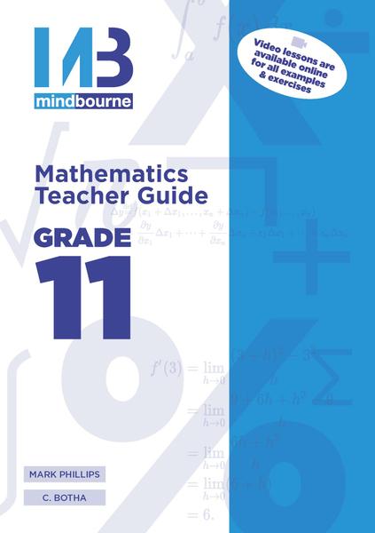 MINDBOURNE MATHEMATICS E-TEACHER GUIDE GRADE 11