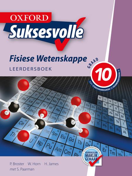 Oxford Suksesvolle Fisiese Wetenskappe Graad 10 Leerdersboek