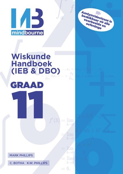 MINDBOURNE WISKUNDE E-HANDBOEK GRAAD 11