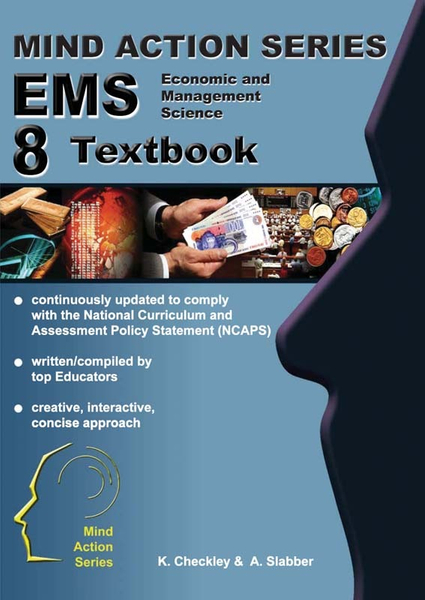 MIND ACTION SERIES Economic Management Science Gr 8 Textbook - Epub (1 Year Licence)