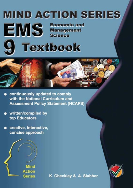 MIND ACTION SERIES Economic Management Science Gr 9 Textbook - Epub (1 Year Licence)