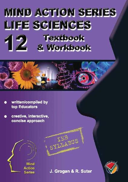 MIND ACTION SERIES Life Sciences Gr 12 Textbook & Workbook IEB