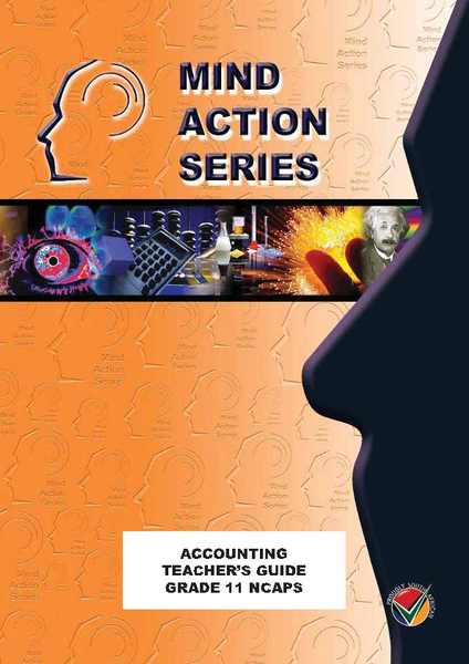 MIND ACTION SERIES Accounting Gr 11 Teachers Guide NCAPS PDF (3 year licence)