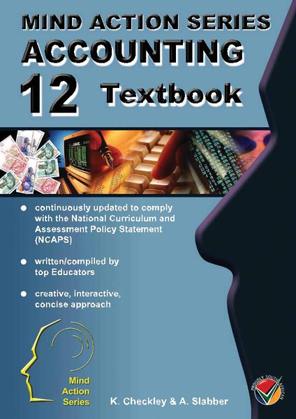 MIND ACTION SERIES Accounting Gr 12 Textbook NCAPS (2017) PDF (1 Year Licence)