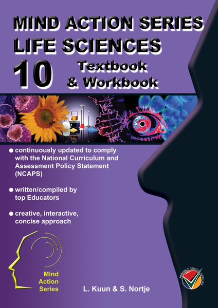 MIND ACTION SERIES Life Sciences Gr 10 Textbook & Workbook NCAPS PDF (3 Year Licence)