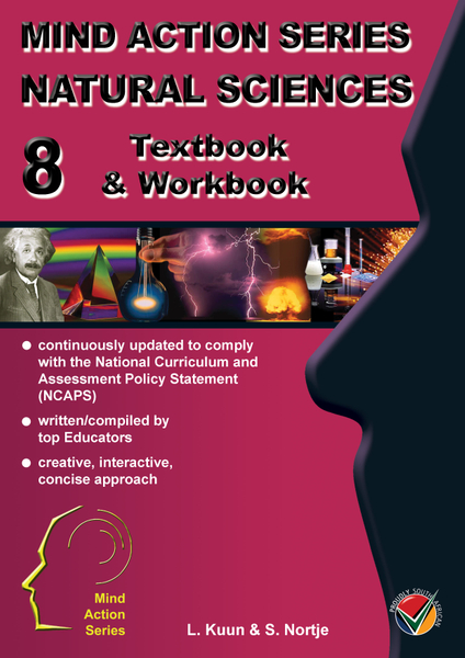 MIND ACTION SERIES Natural Science Gr 8 Textbook & Workbook NCAPS  PDF (3 year licence)