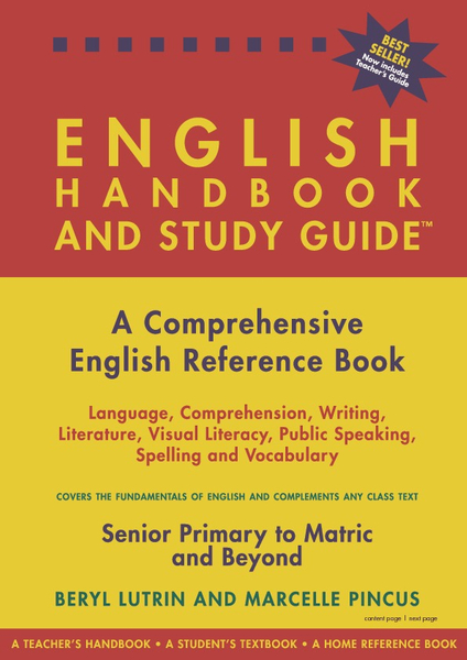 English Handbook And Study Guide Beryl Lutrin Pdf