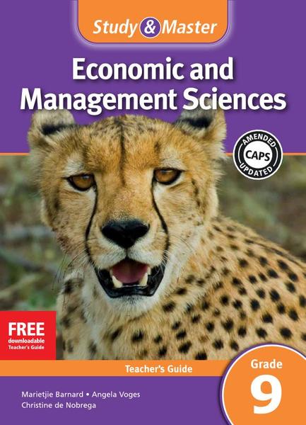 Study & Master Economic and Management Sciences Grade 9 Teacher's Guide Adobe Edition