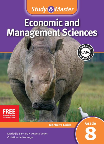 Study & Master Economic and Management Sciences Grade 8 Teacher's Guide Adobe Edition
