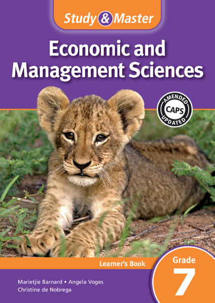 Study & Master Economic and Management Sciences Grade 7 Learner's Book (1 year) Adobe Edition