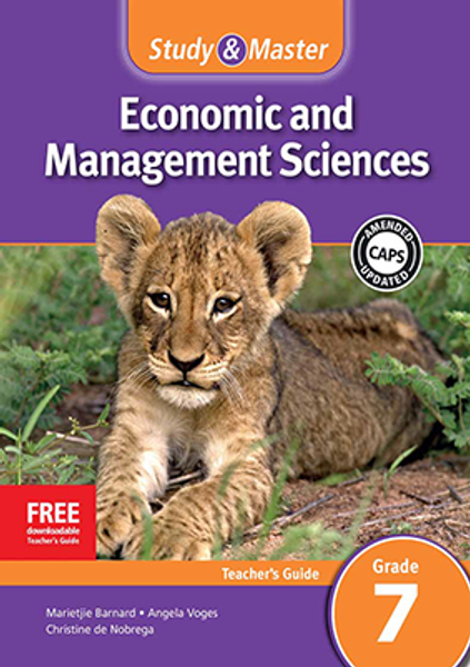 Study & Master Economic and Management Sciences Grade 7 Teacher's Guide Adobe Edition