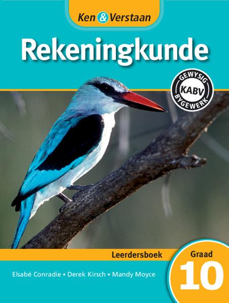 Ken & Verstaan Rekeningkunde Graad 10 Leerdersboek (1 year) Digital Edition