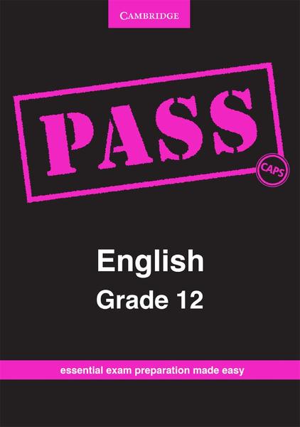PASS English Grade 12 CAPS Digital Edition