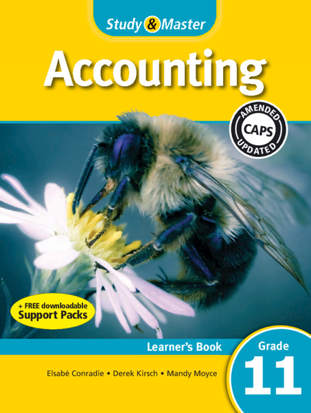 Study & Master Accounting Grade 11 Learners Book (1 year) Enhanced Digital Edition