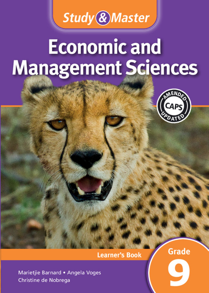 Study & Master Economic and Management Sciences Grade 9 Learner's Book (1 year) Enhanced Digital Edition