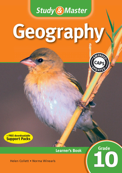 Study & Master Geography Graad 10 Learners Book (1 year) Enhanced Digital Edition