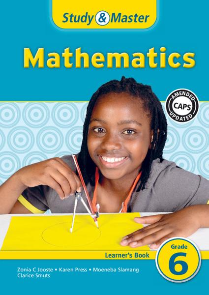 Study & Master Mathematics Grade 6 Learners Book (1 year) Digital Edition