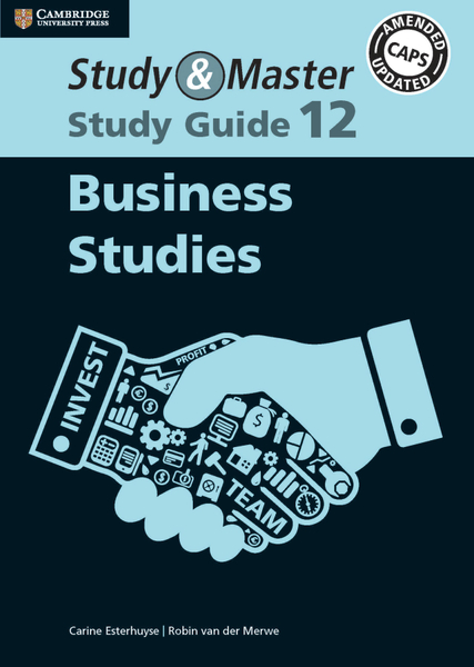 Study & Master Business Studies Study Guide 12