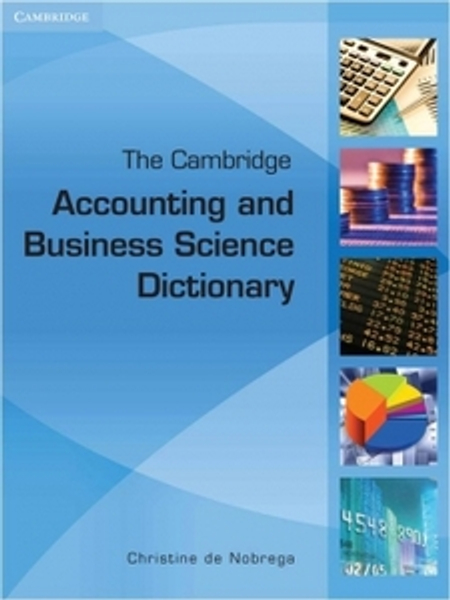 The Cambridge Accounting and Business Science Dictionary Digital Edition