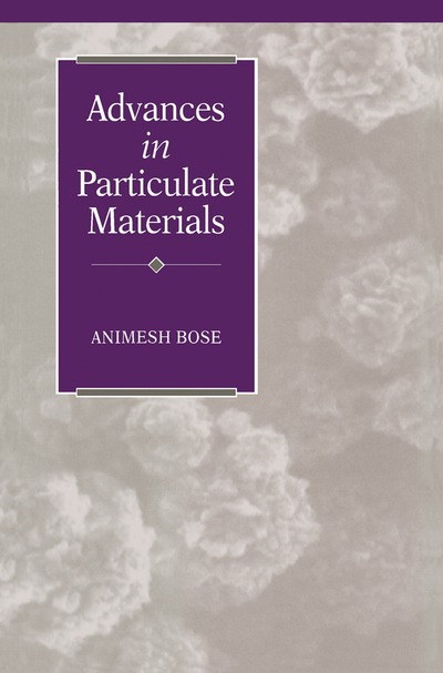 Picture of Advances in Particulate Materials