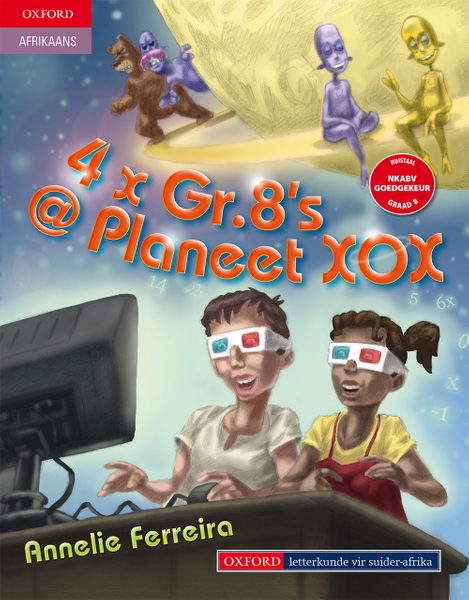 Picture of 4 x Graad 8's @ Planeet XOX (1-Year)