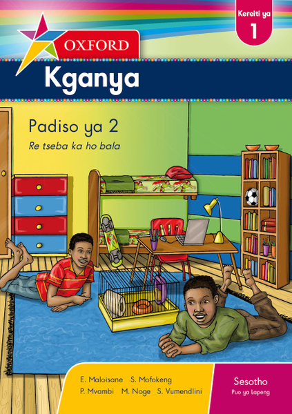 Picture of Oxford Kganya Grade 1 Reader 2 Sesotho (1-Year)