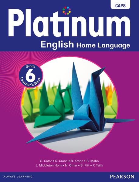 Platinum English Home Language Grade 6 Learner's Book ePDF
