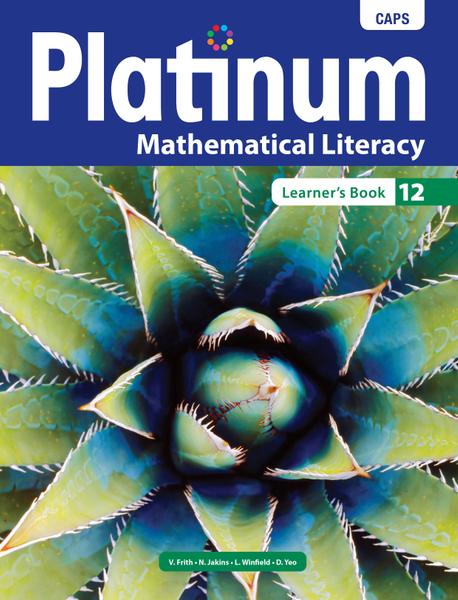 Platinum Mathematical Literacy Grade 12 Learner's Book ePDF (1-year