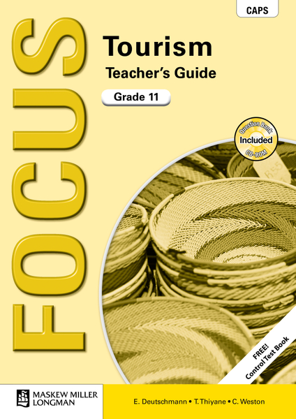 Picture of Focus Tourism Grade 11 Teacher's Guide ePDF (1-year licence)