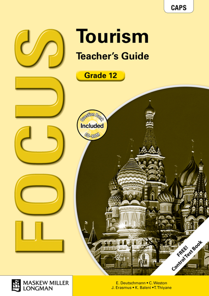 Picture of Focus Tourism Grade 12 Teacher's Guide ePDF (1-year licence)
