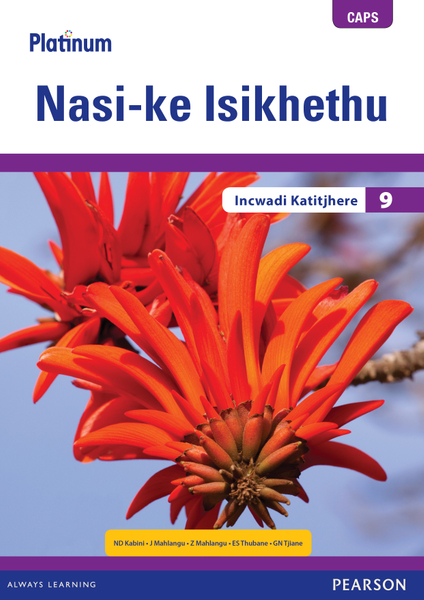 Picture of Platinum Nasi-ke Isikhethu (IsiNdebele HL) Grade 9 Teacher's Guide ePDF (1-year licence)