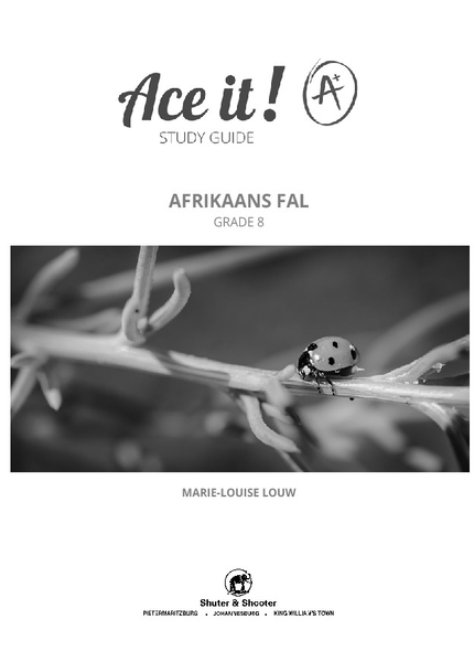 Picture of Ace It! Afrikaans First Additional Language Grade 8