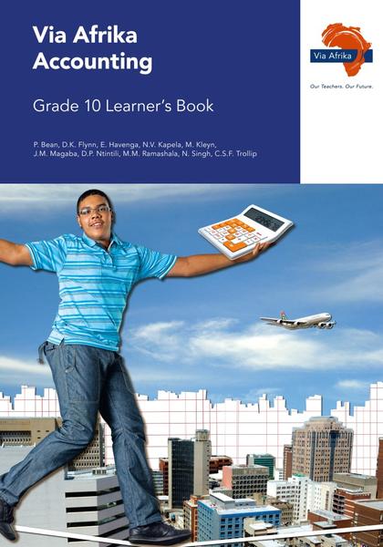 Via Afrika Accounting Grade 10 Learner's Book