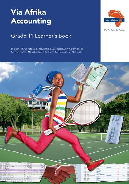 Via Afrika Accounting Grade 11 Learner's Book