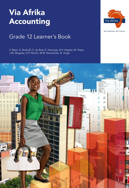 Via Afrika Accounting Grade 12 Learner's Book