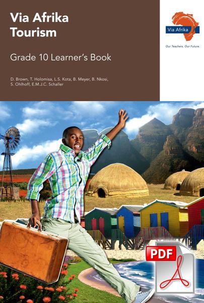 Via Afrika Tourism Grade 10 Learner's Book (PDF)