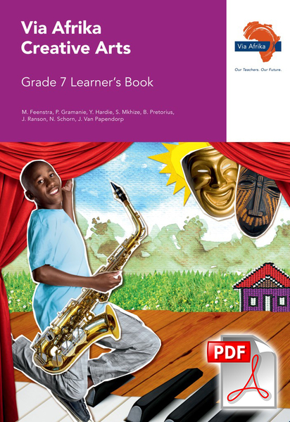 Via Afrika Creative Arts Grade 7 Learner's Book (PDF)