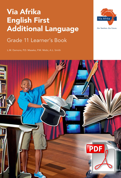 Via Afrika English First Additional Language Grade 11 Learner's Book (PDF)