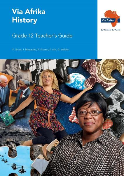 Via Afrika History Grade 12 Teacher's Guide