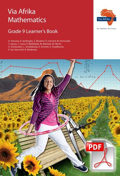 Via Afrika Mathematics Grade 9 Learner's Book (PDF)